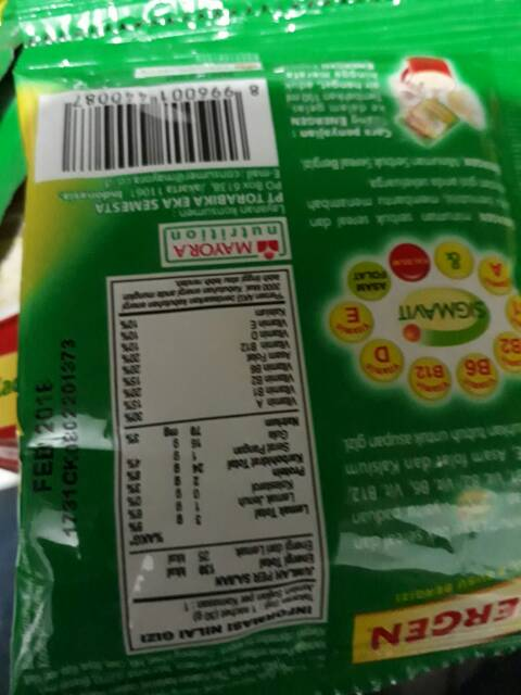 Energen Kacang Hijau 30gr Shopee Indonesia
