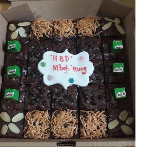 brownies / kue ulang tahun