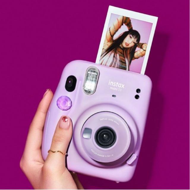 Fujifilm Instax Mini 11 Instant Camera Free 1 Mini Sky Blue Frame By Claim Shopee Indonesia