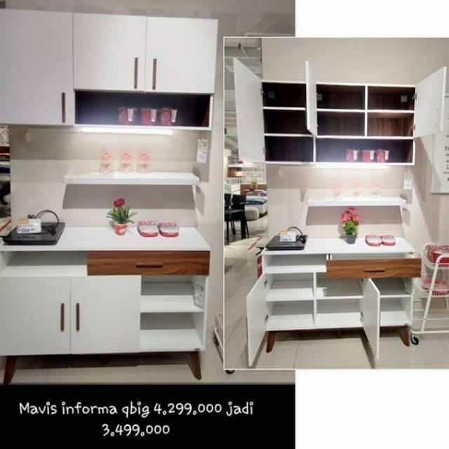 Mavis Kitchen Set By Informa Kitchen Set Informa Murah Kitchen