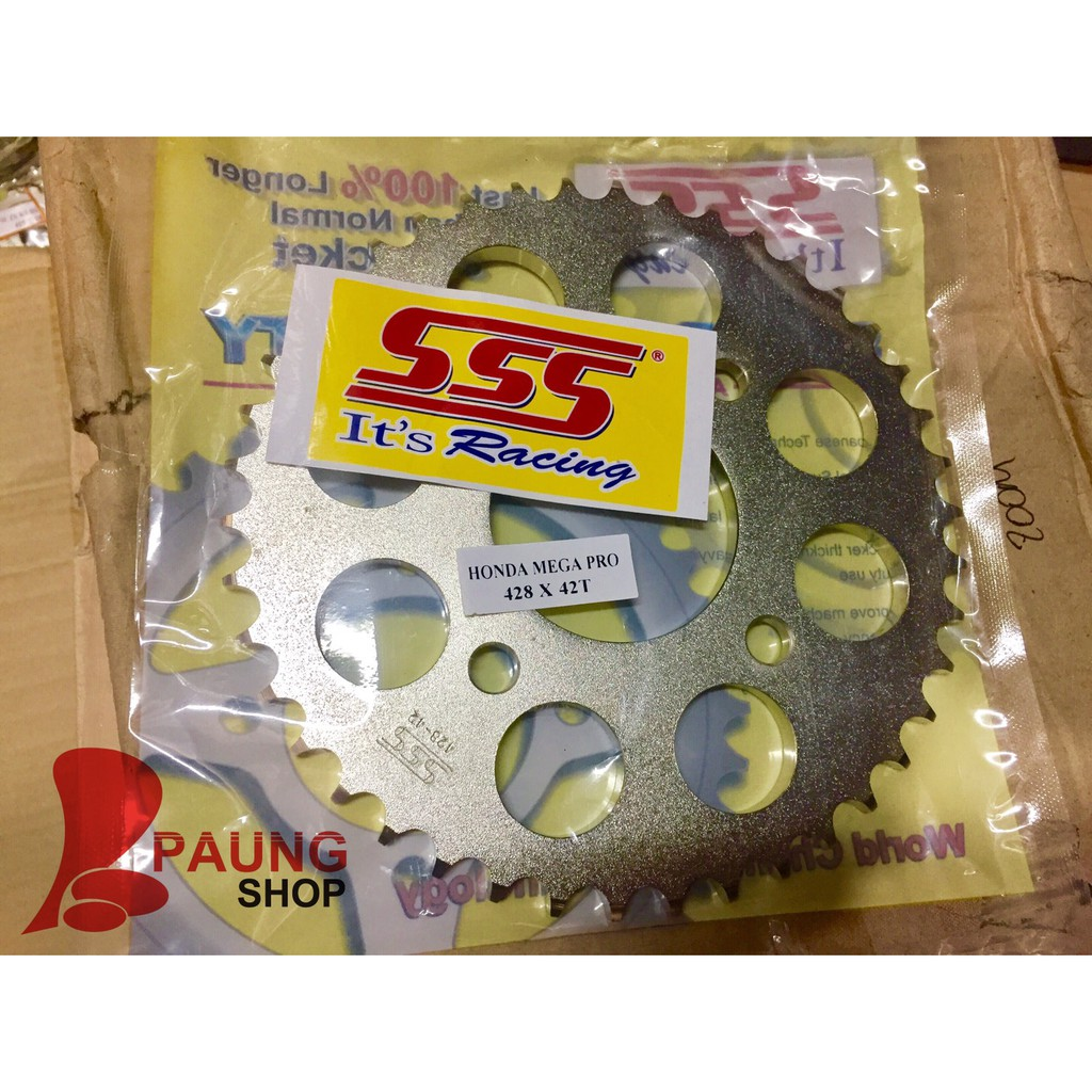 Gear Sss Belakang Honda 428 Ukran 38 39 40 41 42 43 44 45 46 Megapro 36 37 Rx King New Mx Jupiter Z Gl Pro Cbr 150 Cb Facelift Shopee Indonesia