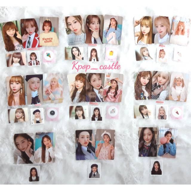 [READY SHARING] IZ*ONE (IZONE) Secret Time + Secret Diary Photocard set Photobook ver