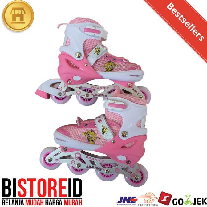 Sepatu Roda Bajaj Ban Karet   Inline Skate Pu Wheels Anak Dan Dewasa ... 1ee6cf40f7