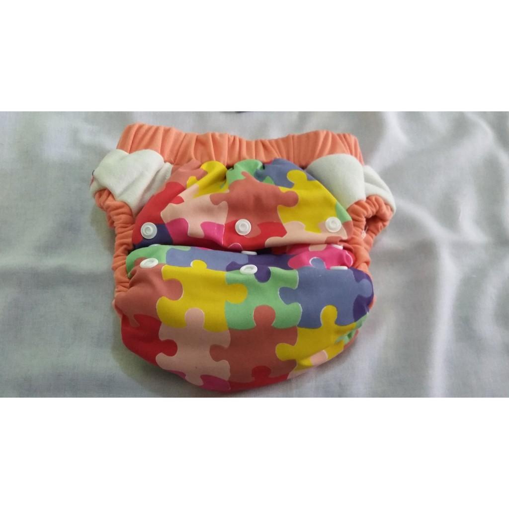 Clodi Popok Kain Klodiz Big Pant Shopee Indonesia Minikinizz Izzy Eco Cloth Diaper Grosir  Motif 6