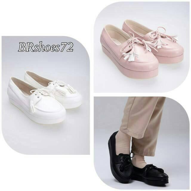 512267cf3a Sepatu Wedges Wanita   HIJABER   ORIGINAL BR SHOES   Br-72