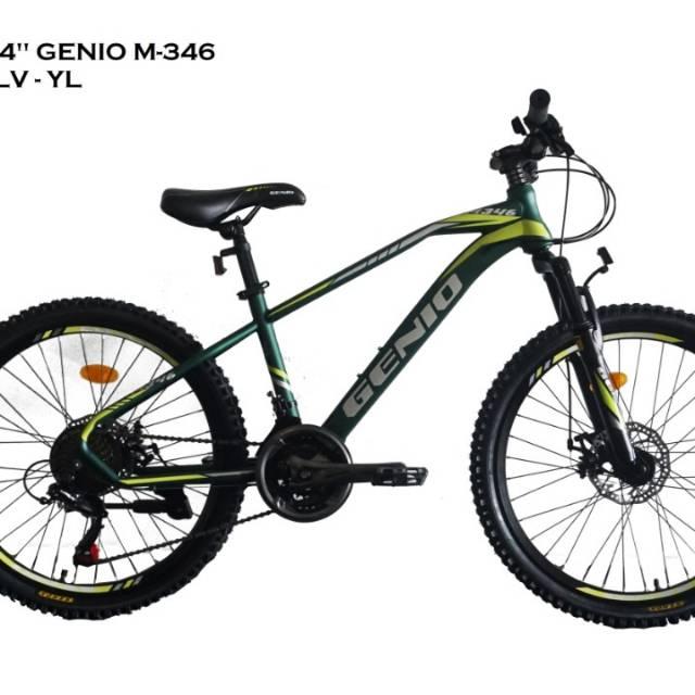 Sepeda Gunung Genio M 346 Mtb Ring 24 Shopee Indonesia