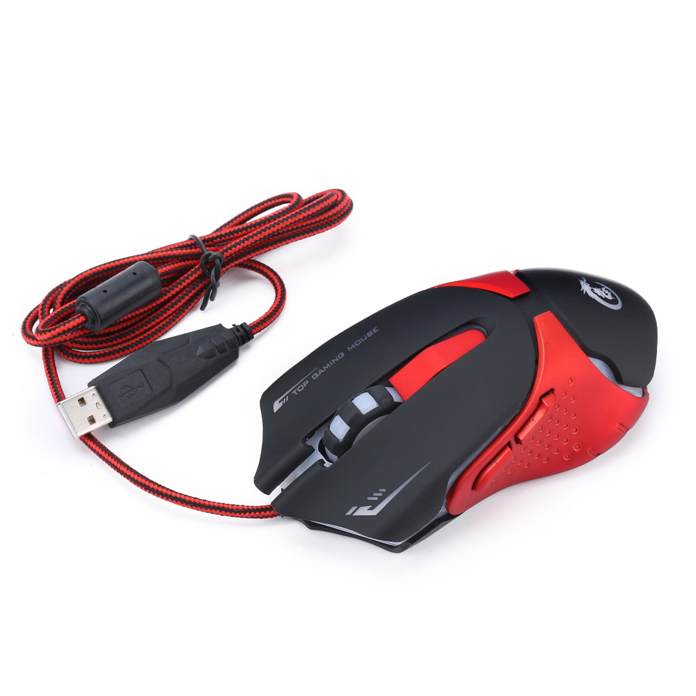 Delux M618 Mouse Optical Wired Blue Light 600 1000 1600 Dpi 3 Standard Hitam Esmile Level Ergonomis Shopee Indonesia