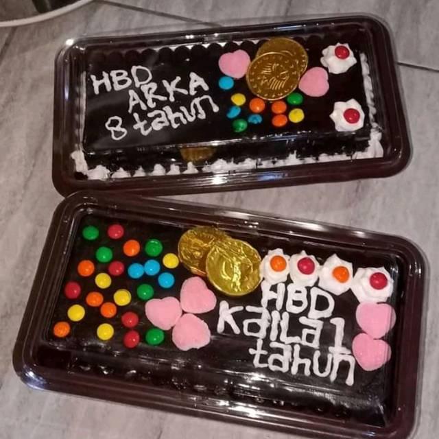 Kue Brownies Ulang Tahun