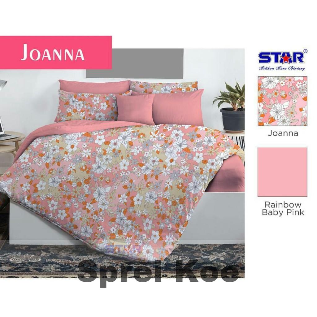Sprei Katun Star Indian Fox Pink Shopee Indonesia Import  Uk 180x200 King 953