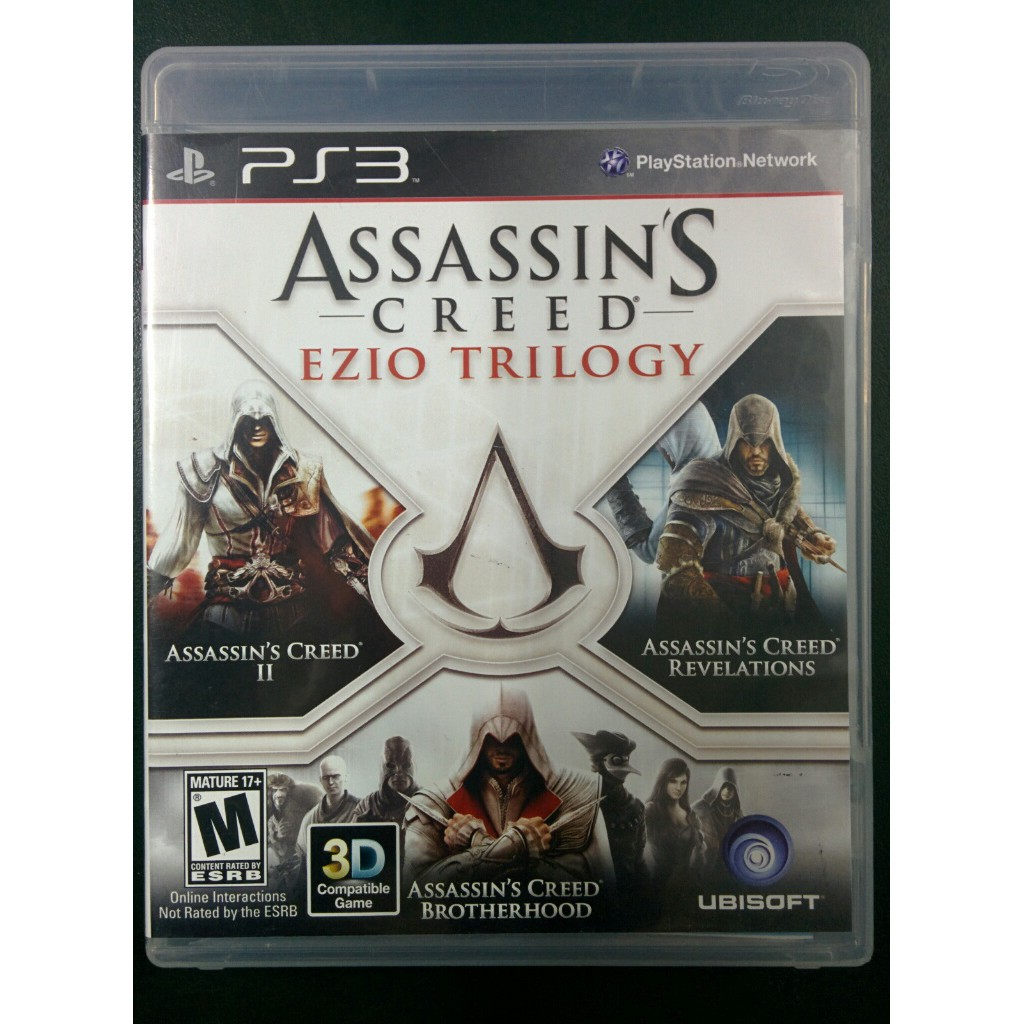 Bd Ps3 Assassin S Creed Ezio Trilogy Shopee Indonesia