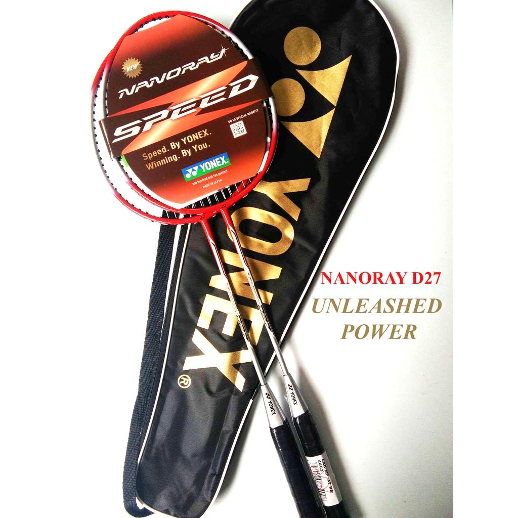 Terbaru Raket Badminton Yonex NANORAY D27 ganda raket bulutangkis nanoray D27   Shopee Indonesia