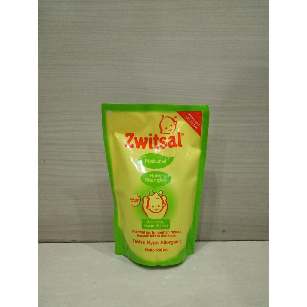 Mkc 870 Zwitsal Baby Shampoo Sabun Natural Aloe Vera Pouch Refill Kemiri Seledri Pump 300 Ml 450 Shopee Indonesia