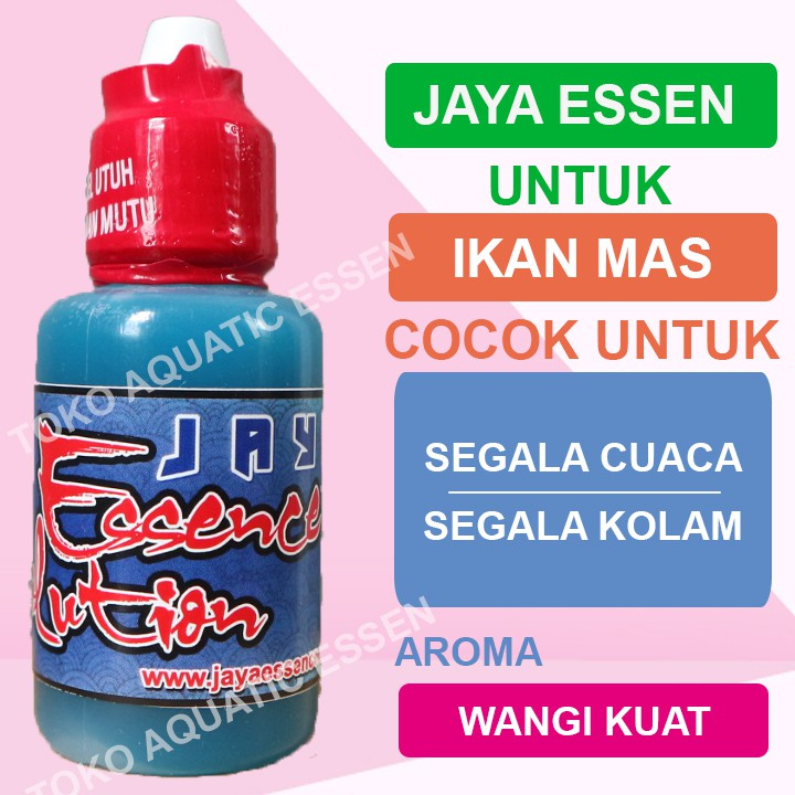 Jaya Essen Untuk Ikan Mas Oplosan Essen Shopee Indonesia