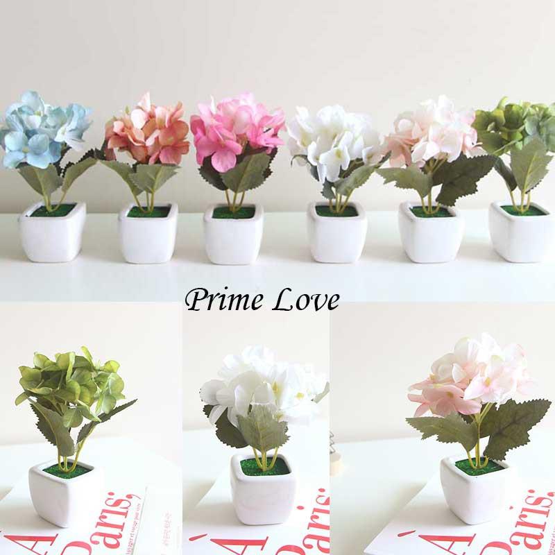 Vas Bunga Mini Unik Bunga Hortensia Artificial Bunga Hias Kecil Tiruan Untuk Pajangan Vbk01 Shopee Indonesia