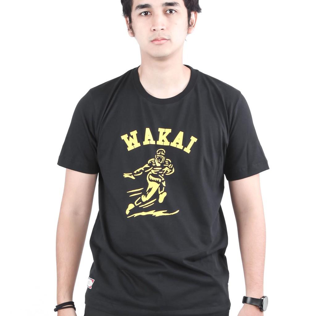 Wakai Baseballstripe Navy White Wak0002837nw52 Shopee Indonesia Eiger Riding Ride Classic Ol T Shirt Kaos Pria S