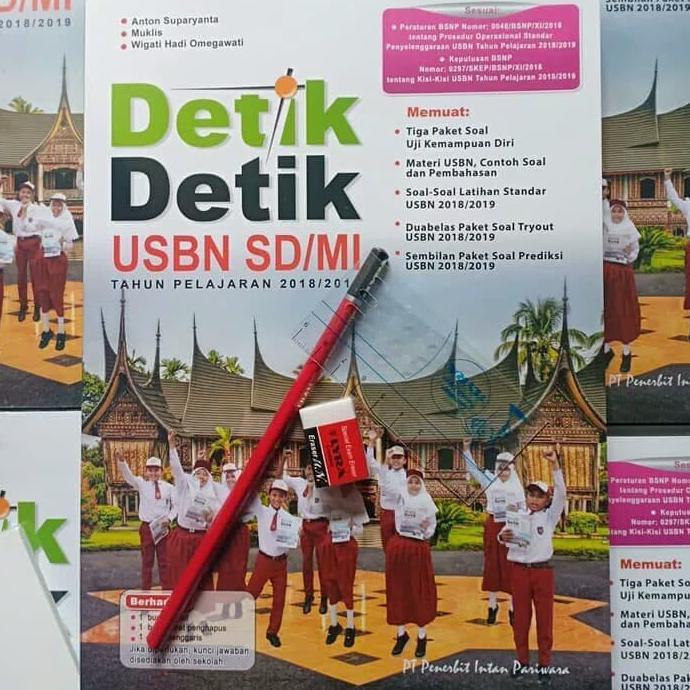 Terbaru Detik Detik Usbn Sd Mi Free Atk Kunci Jawaban Shopee Indonesia