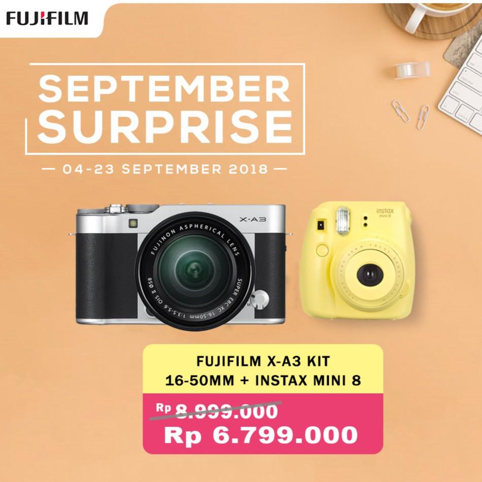 Fujifilm Xt20 Kit 18 55mm Kamera Mirrorless Silver Xf 35mm F 2 X T20 F28 4 R Lm Ois Black F2 Sp2 Garansi Resmi Shopee Indonesia