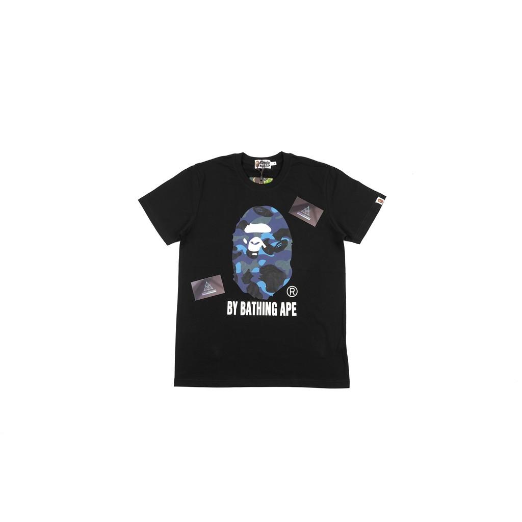 ce51a5e3b Kaos Bape Space Camo Shark T-shirt 100% Cotton Mirror Quality 1:1 Original  | Shopee Indonesia
