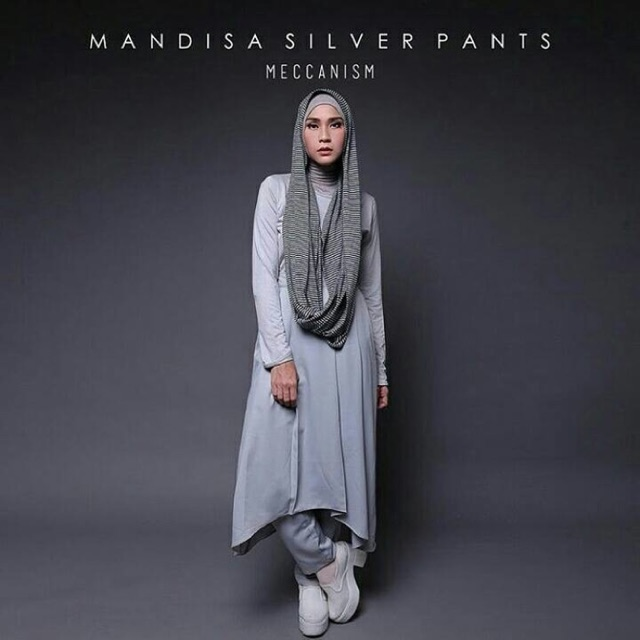 NEW) Mandisa Silver Pants Meccanism by Zaskia Mecca | Shopee Indonesia