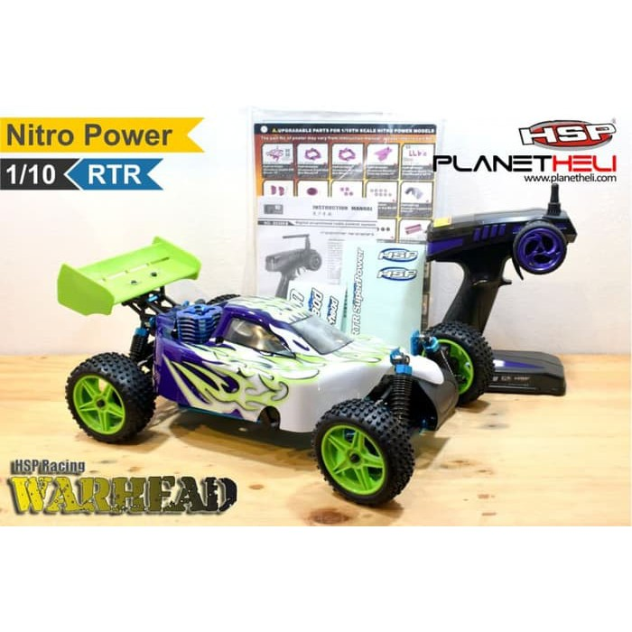 Hsp Rc Buggy Warhead Two Speed 4wd Full Propo 1 10 Scale Nitro Power R Shopee Indonesia
