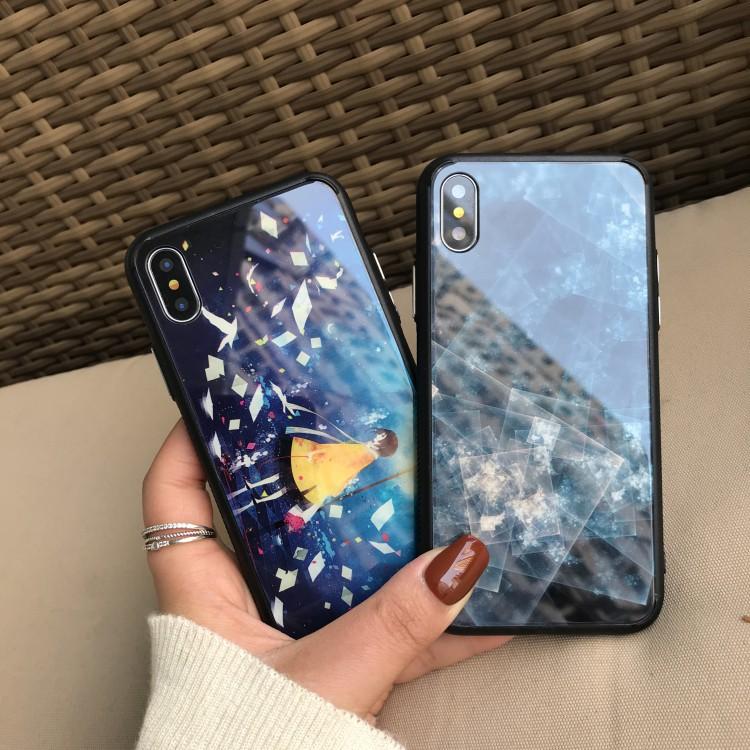 Hard Case Cover Belakang Tempered Glass Warna Warni Gradasi untuk Huawei P20 Pro p20pro | Shopee
