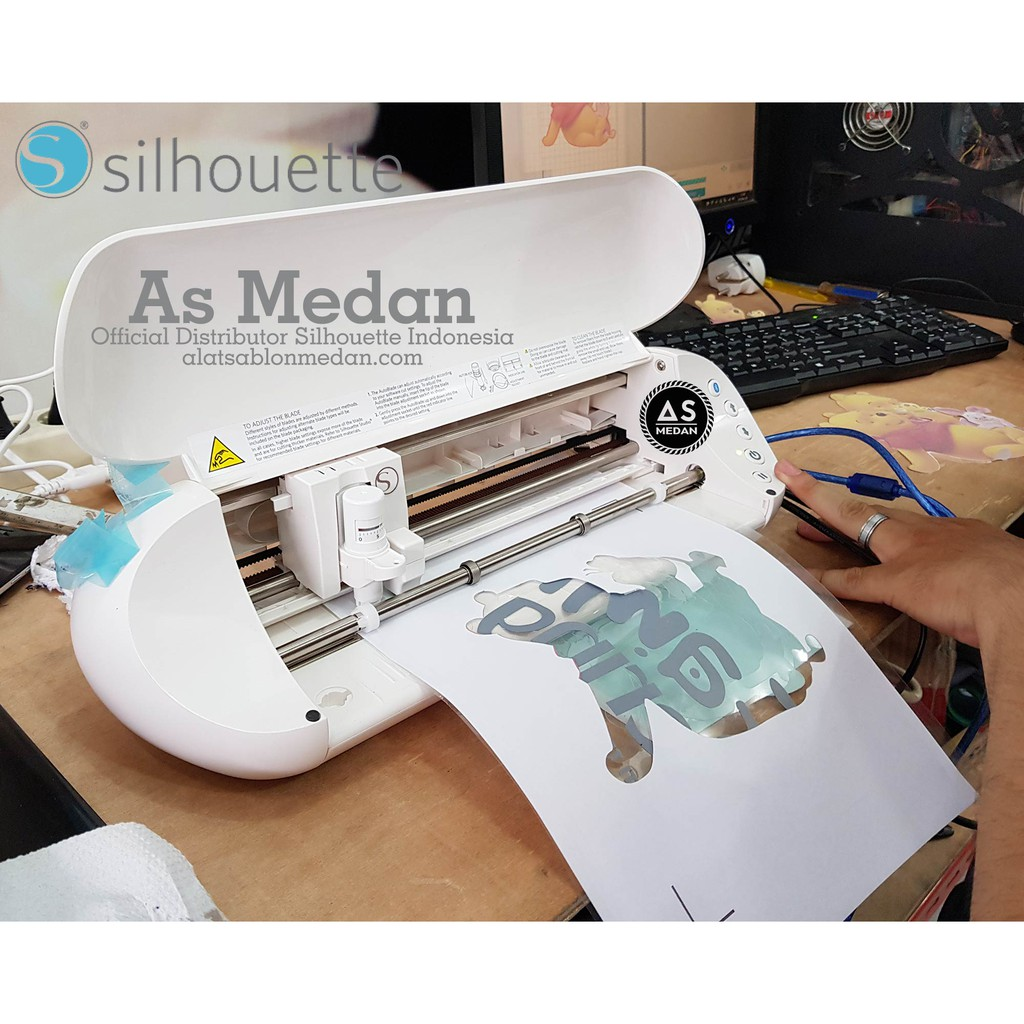 Mesin Cutting Sticker Jinka Nxl Pro 721 Led Coreldraw Shopee Indonesia Roller Penjepit
