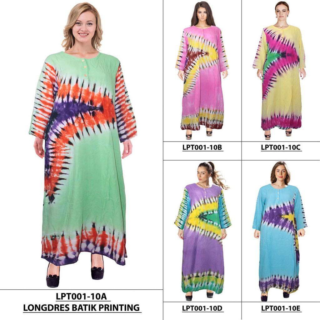 Longdress Batik Print LPT001 40D. Source · Dapatkan Harga panjang wanita Baju Tidur Daster Batik