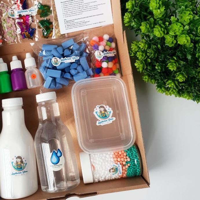 ➯ DIY Mini Slime Kit by Landseries Slime | Bahan Slime ▲
