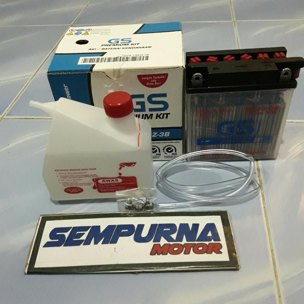 Aki Kering Gs Astra Gtz5s Untuk Karisma Beat Vario Blade Absolute Accu Motor Supra Satria F New Mega Pro Scoopy X 125 Shopee Indonesia