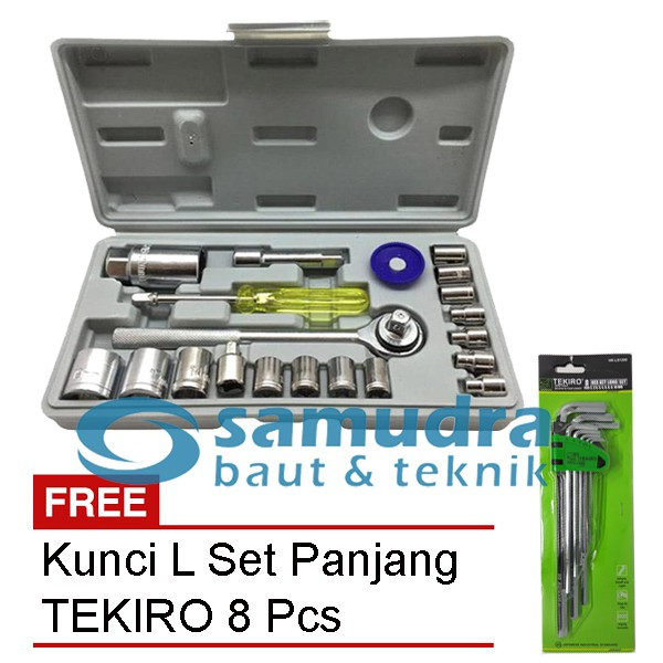 KUNCI L SET PANJANG KOMBINASI BINTANG 9 PCS HDT EXTRA LONG HEX KEY   Shopee Indonesia