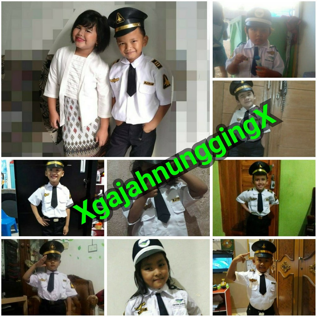 Baju Seragam Polisi Anak Shopee Indonesia Setelan