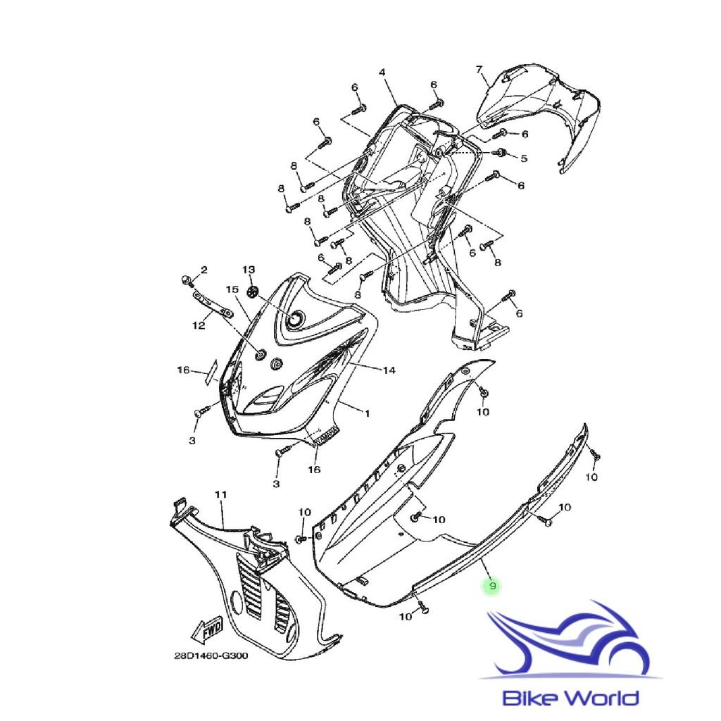Dek Bawah / Dek Kolong Mio Lama / Mio New Hitam Yamaha ORI ASLI Original / Sparepart Motor Murah   Shopee Indonesia
