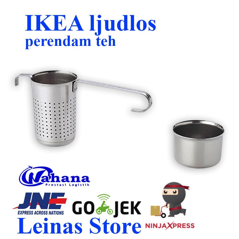Ready Stok Baru - Ikea Ljudlos Alat Perendam Daun Teh / Tea Infuser / Saringan Teh | Shopee Indonesia