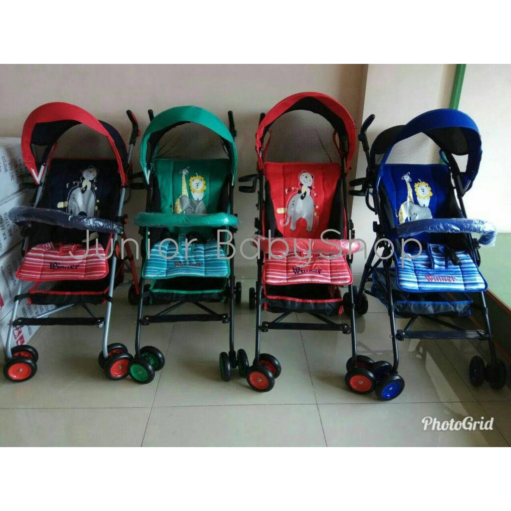 Stoller Baby Kereta Dorong Bayi Pliko Winner Shopee Indonesia Khusus Gojek Stroller Stroler Boston Bekasi