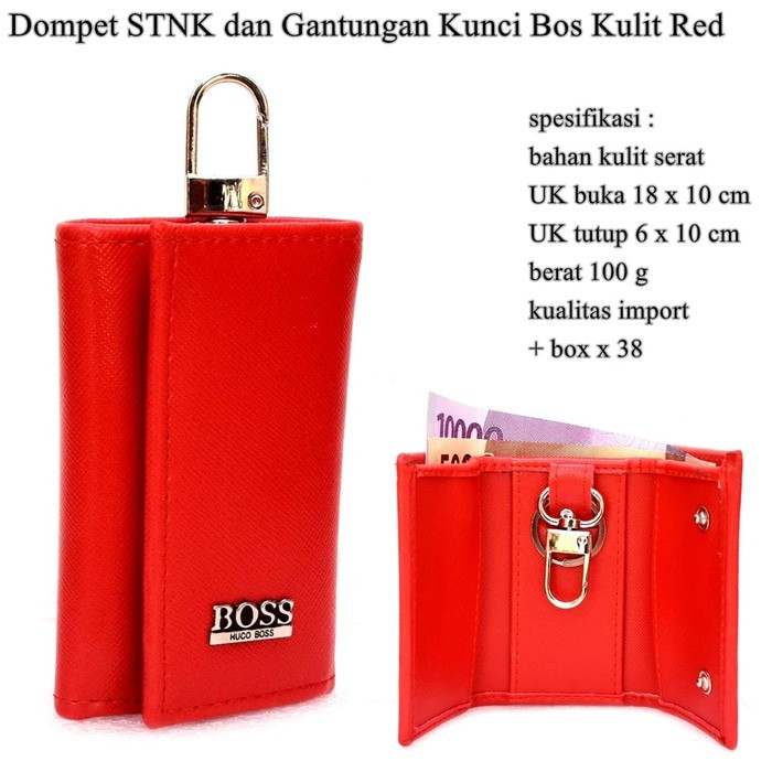 Dompet Kulit Papillon Original D660 Merah STNK Termurah  3eca46082f