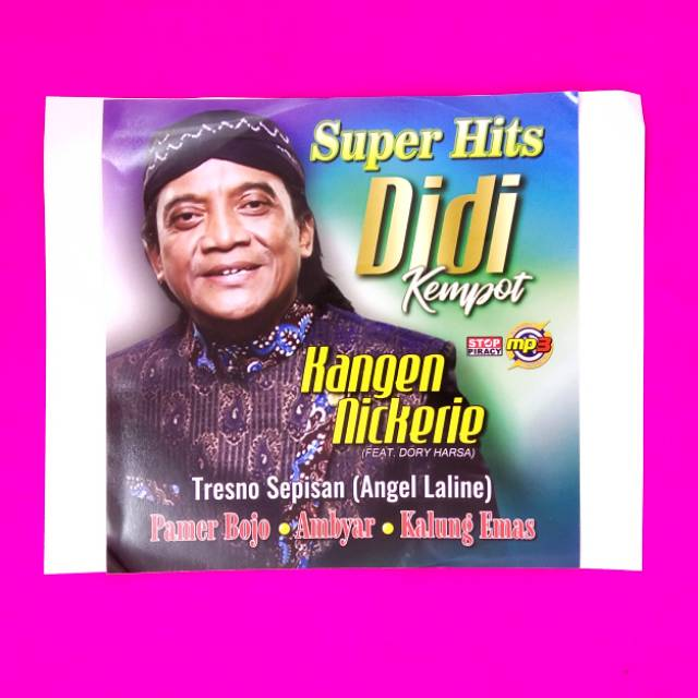 Kaset Mp3 Lagu Didi Kempot Terbaru Shopee Indonesia
