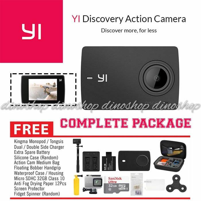 Xiaomi Yi Discovery 4K International Version Paket Complete Camera