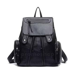 B315 Tas Backpack Ransel Korea Import wanita leath Tas Backpack Stylish  Cewek Hits Kekinian Z5T0  2caa1b86d5