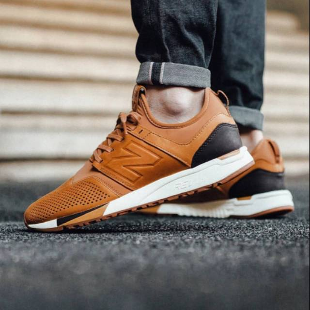 NEW BALANCE 247 LUXE LEATHER