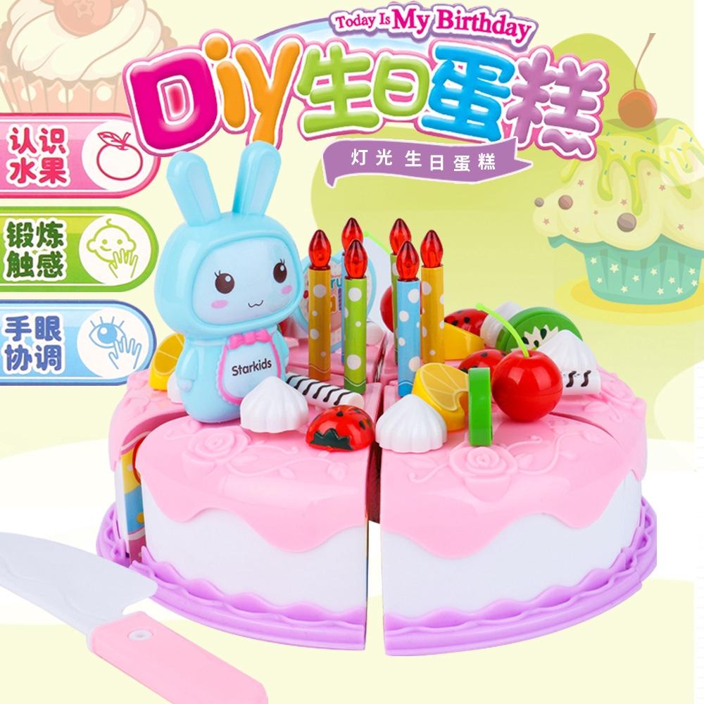 Hap Mainan Simulasi Kue Ulang Tahun Untuk Anak Bermain Peran Shopee Indonesia