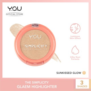 The Simplicity Gleam Highlighter by YOU Makeups