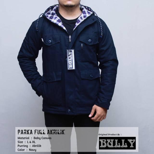 Jaket parka dakron | Shopee Indonesia