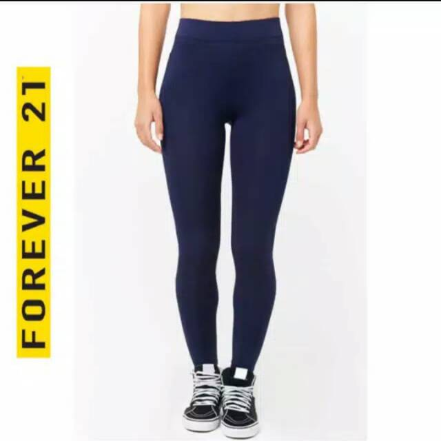 Promo Stok Akhir Legging Forever 21 Uk L Shopee Indonesia
