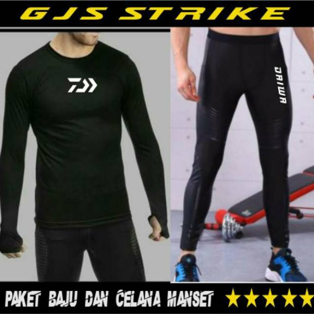Paket Hemat Baju Mancing Dan Celana Leging Mancing Pakaian Mancing Shopee Indonesia