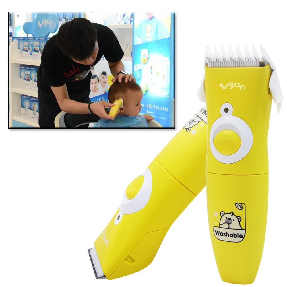 Yijan Alat Pencukur Rambut Elektrik Untuk Anak Bayi Profesional ... 94ab968f67