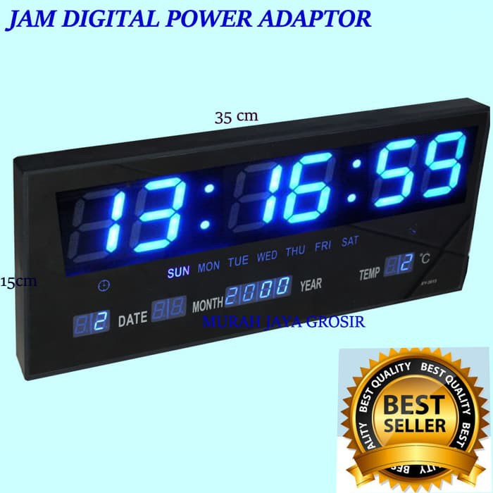Jam Dinding Digital LED KENKO   Jam Digital LED Minimalis Antik MURAH  4027755905
