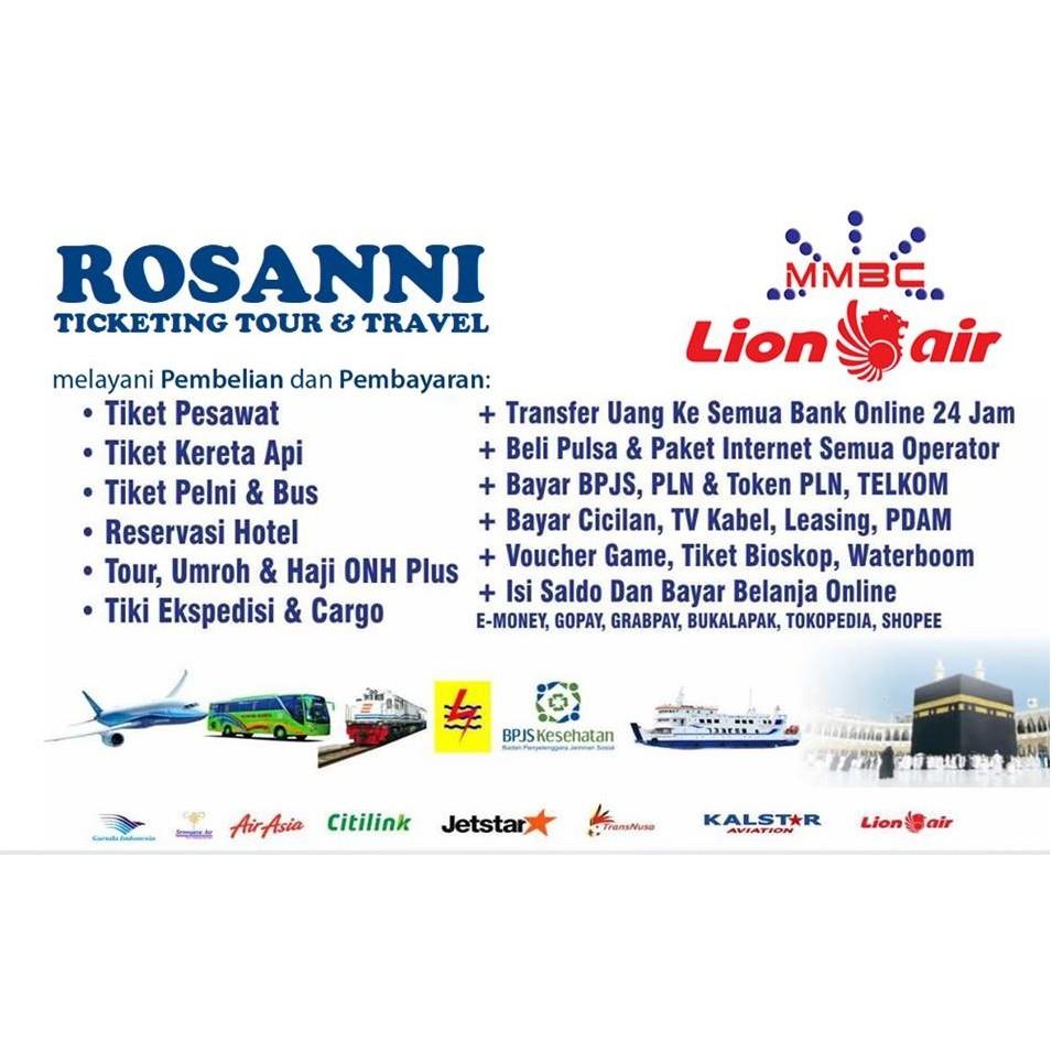 Tiket Pesawat Lion Air Koe Sub 24 Apr 2019