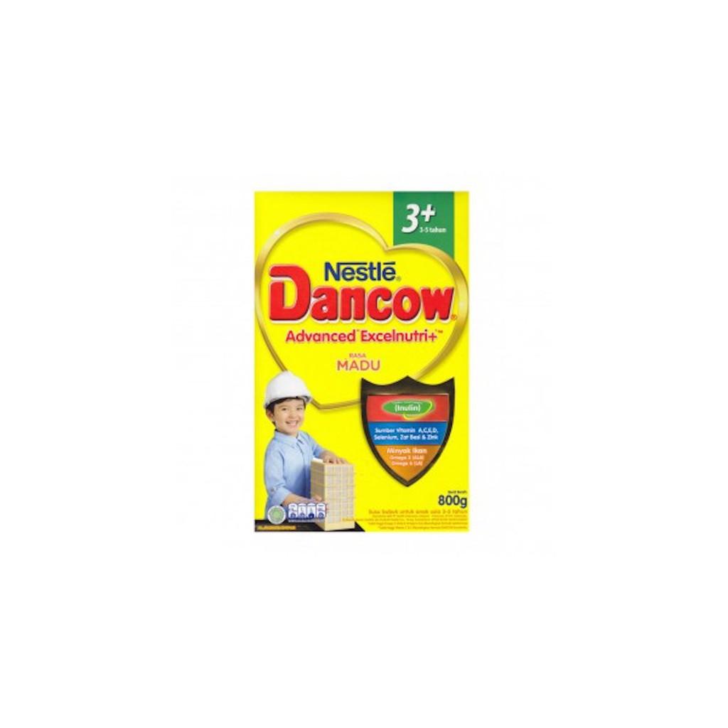 Dancow 3+ Madu/ Vanila/coklat (3-5 th) 800g