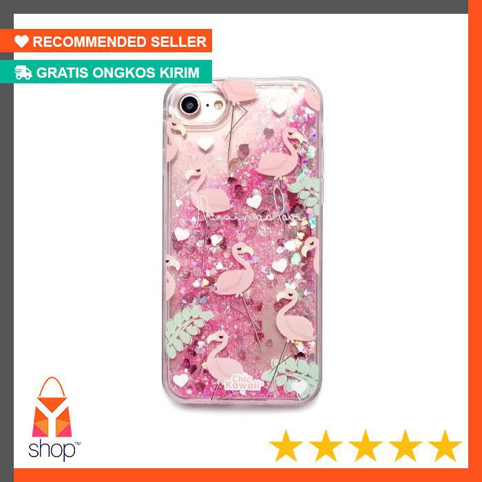 Case Water Glitter Polos Softcase .