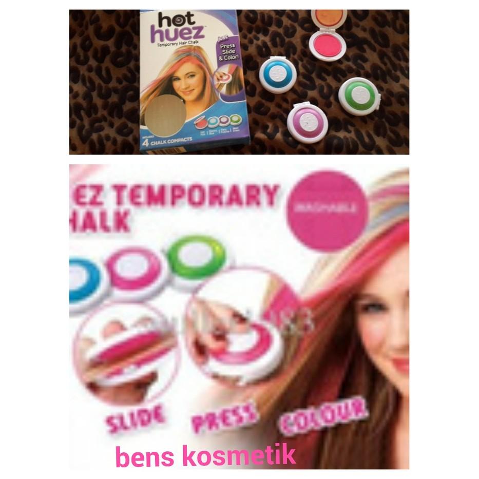 HOT HUEZ TEMPORARY HAIR CHALK pewarna rambut temporary tidak permanen  fe75f353f8